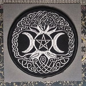 Wiccan Pentagram Patch